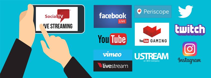 Integramos su transmisión online de manera simultanea a todas sus redes sociales en tiempo real.